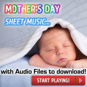 Mother's Day sheet music to print instantly at Virtual Sheet Music