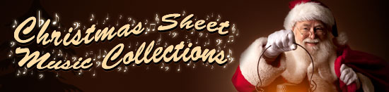 Christmas Sheet Music Banner