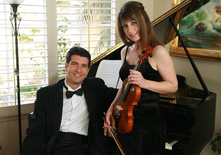 Fabrizio Ferrari and Laura Caldera